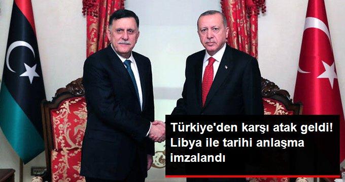 Türkiye ile Libya Arasında Tarihi Anlaşma