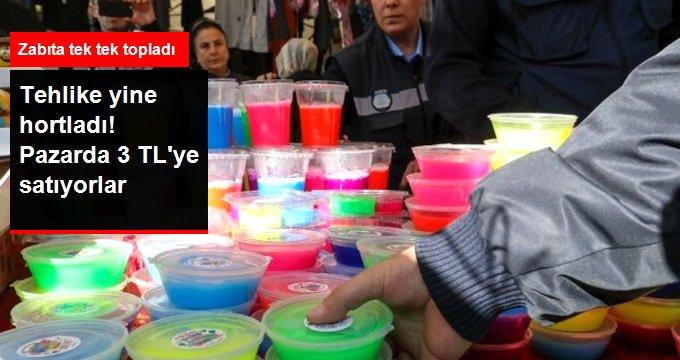 Tehlike Saçan Slime Hamuru Yine Ortaya Çıktı