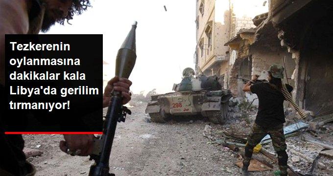 Hafter güçlerinden Trablus'taki yerleşim bölgelerine füze saldırısı: 1 ölü