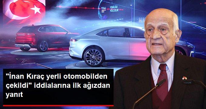 Karsan, İnan Kıraç'ın yerli otomobilden çekildiği iddialarına yanıt verdi