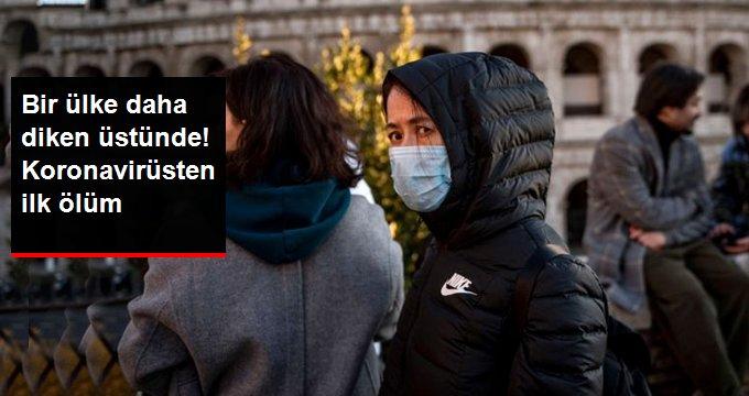 İtalya'da Koronavirüs Salgını Nedeniyle İlk Ölüm Gerçekleşti