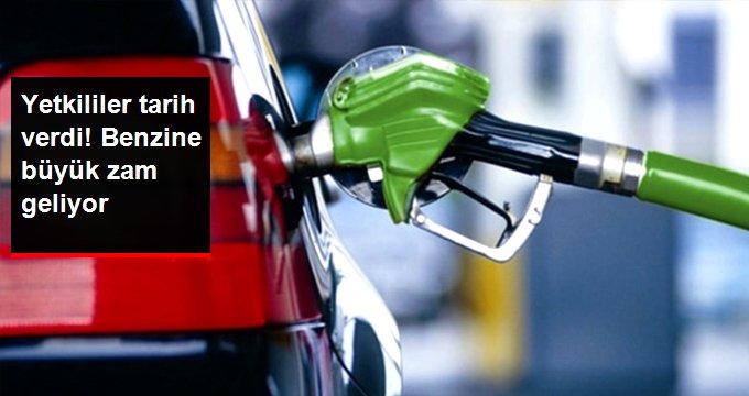 Benzine Pazartesi Gününden İtibaren 16 Kuruşluk Zam Bekleniyor