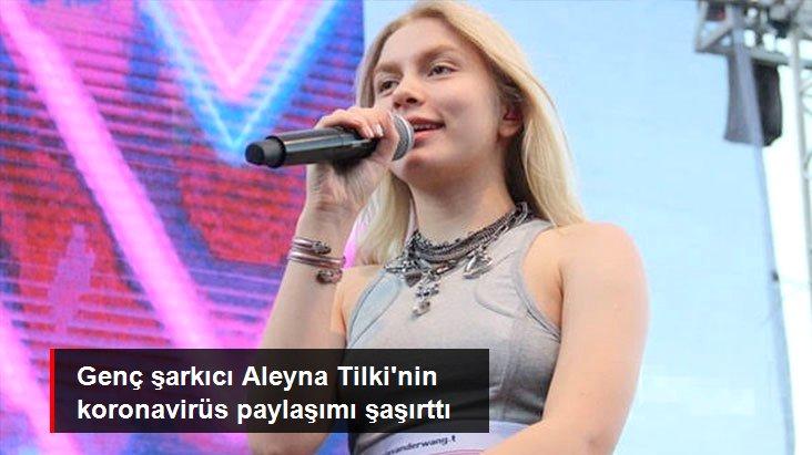 Aleyna Tilki'den Koronavirüs Paylaşımı: Dünya Bize Ceza Veriyor