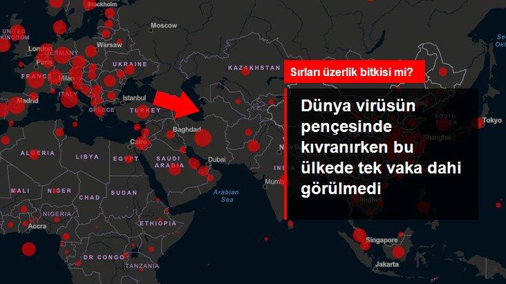 Türkmenistan'da şu ana kadar Kovid-19 vakası görülmedi!