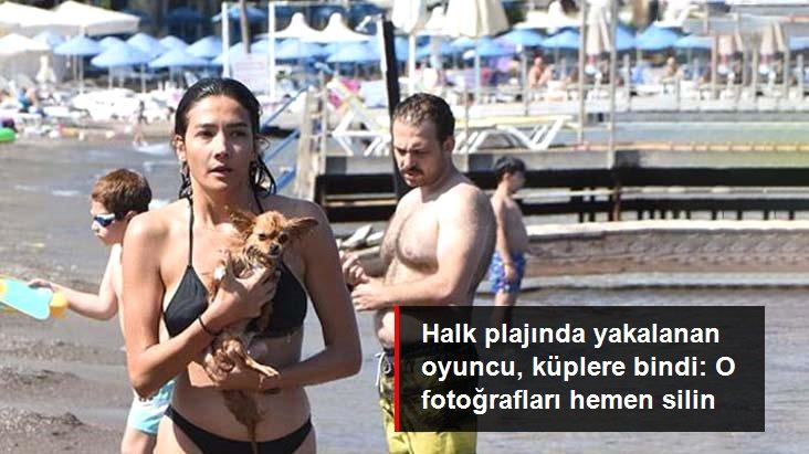 Aybüke Pusat Halk Plajında Yakalandı