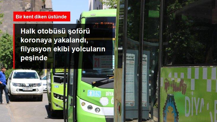 Halk Otobüsü Şoförünün Koronavirüs Testi Pozitif Çıktı
