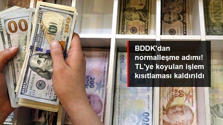 BDDK, Yurt Dışı Yerleşiklere TL İşlem Kısıtlamasını Şartlı Olarak Kaldırdı
