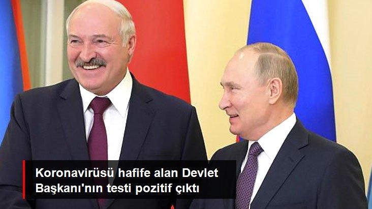 Belarus Devlet Başkanı Lukaşenko'nun Koronavirüs Testi Pozitif Çıktı
