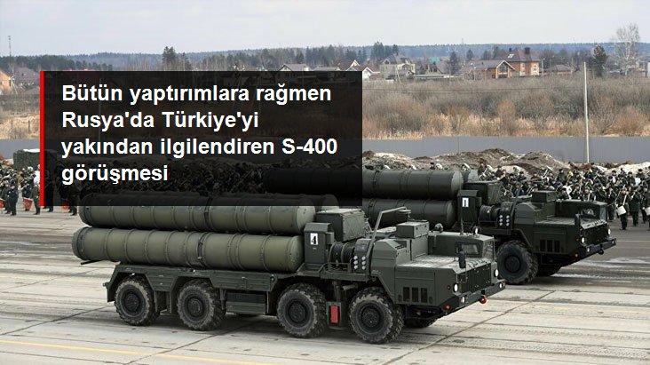 Türkiye'ye S-400 Sevkiyatında Olası İkinci Parti Üzerinde Çalışmalar Sürüyor