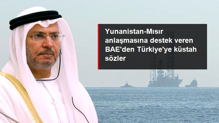 Birleşik Arap Emirlikleri, Yunanistan ile Mısır Arasında İmzalanan Anlaşmaya Destek Verdi