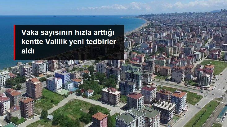 Samsun'da Vaka Sayısı Artınca Valilik Yeni Tedbirler Aldı