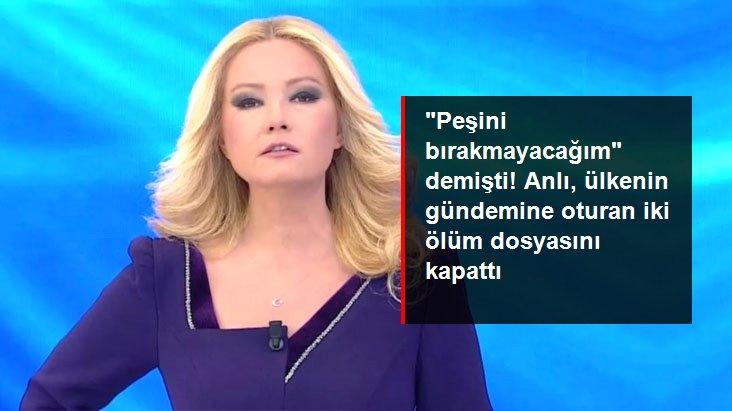 Aleyna Çakır ve Gülay Uygun'un Dosyalarını Kapattı