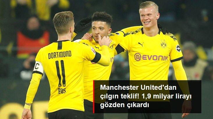 Manchester United, Sancho ve Haaland için 1,9 Milyar TL Ödemeye Hazır