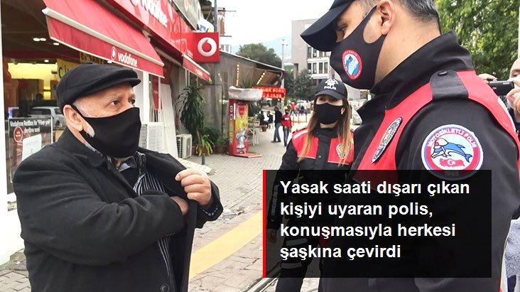Bursa'da Polis, Suriyeli Vatandaşı Arapça Uyardı