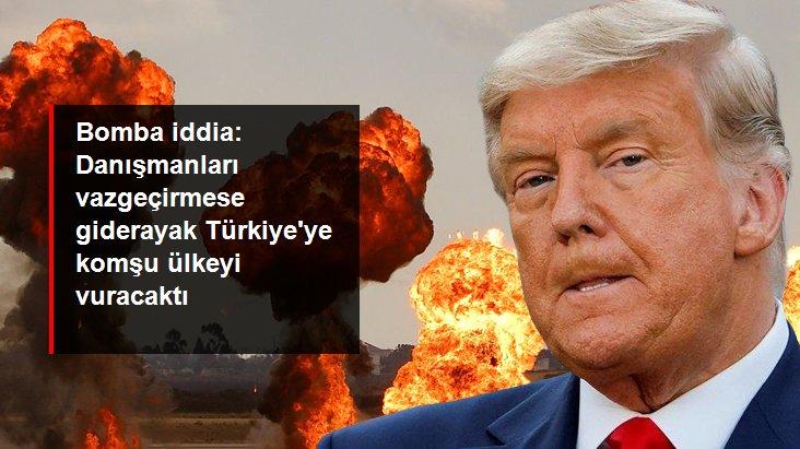 Trump Giderayak İran'ın Nükleer Tesisine Saldırmak İstedi
